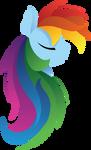 Simplicity - Rainbow Dash by SiMonk0