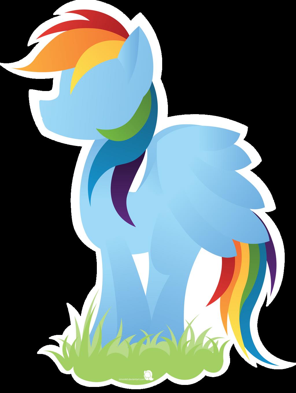 Rainbow Dash by SiMonk0