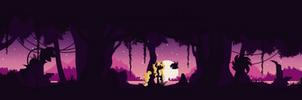 [Commission] Magical lands