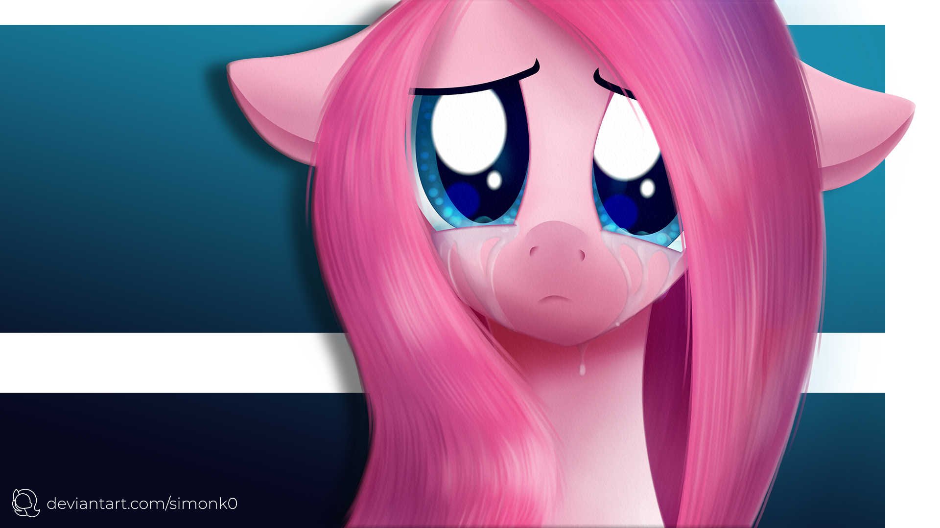 When Ponies Cry - Pinkie Pie by SiMonk0