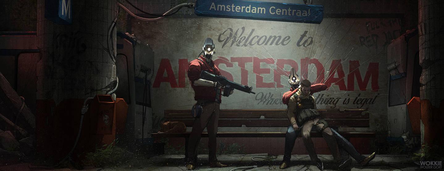 Welcome to Neo-Amsterdam! by WouterGort