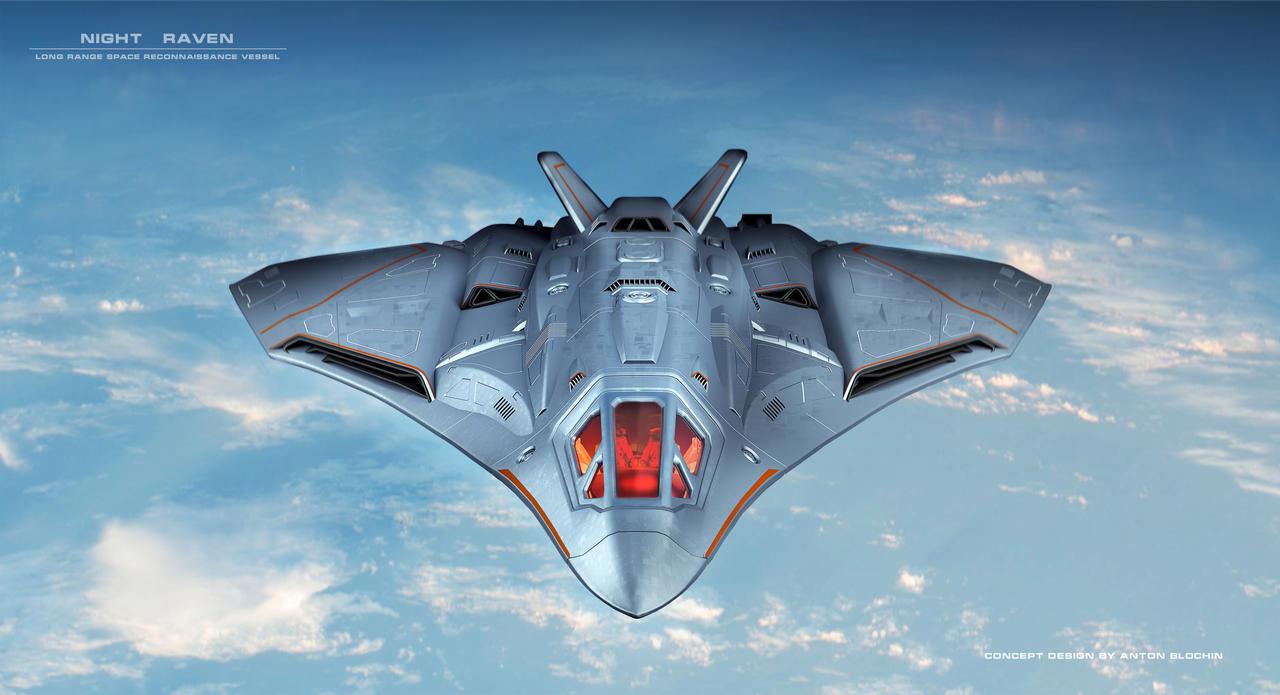 Night Raven,Long Range Space Reconnaissance Vessel
