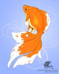 2008_8_Goldfish by LilOrangeDragoness