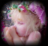 Tiny OOAK Fairy Baby Art Doll by LindaJaneThomas