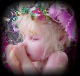 Tiny OOAK Fairy Baby Art Doll by LindaJaneThomas