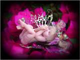 Sleepy Baby Fairy Sculpture by LindaJaneThomas