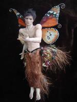 Monarch Fairy Male 2 by LindaJaneThomas