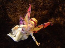 Pink Fairy Full Shot by LindaJaneThomas