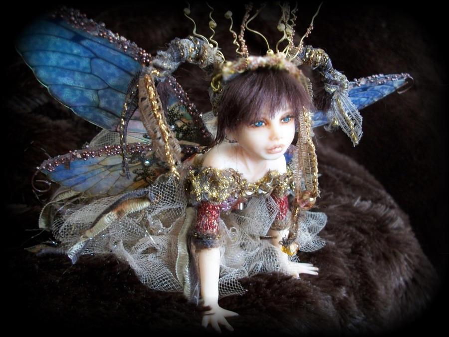 Ametrine OOAK Fairy by LindaJaneThomas
