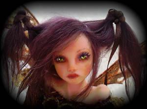 Sami semi-posable art doll