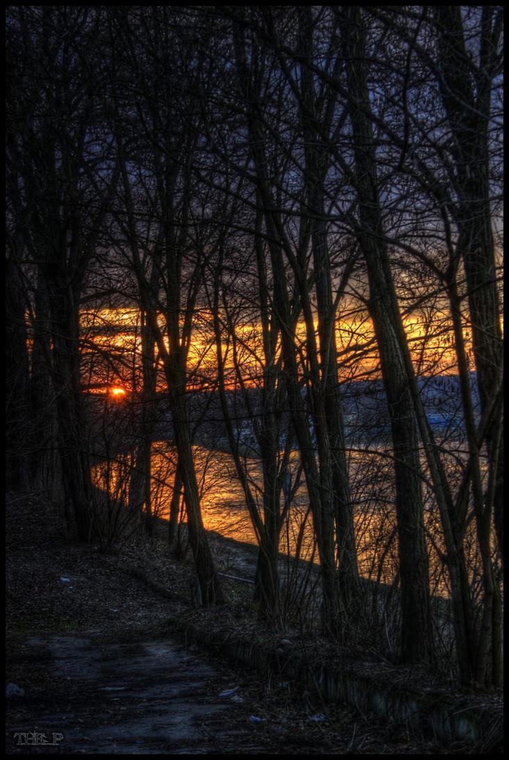 River dawn by CiSheep
