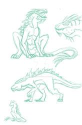 New Kaiju Sketch