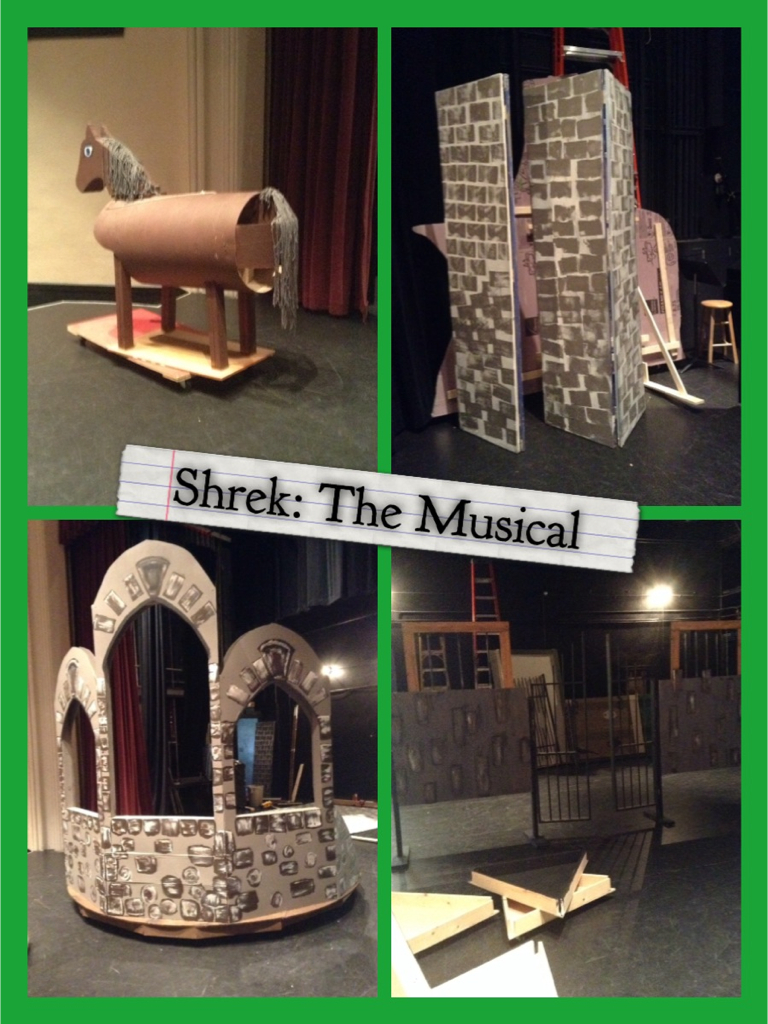 Shrek: The Musical Set Design Building by CarterShand on DeviantArt