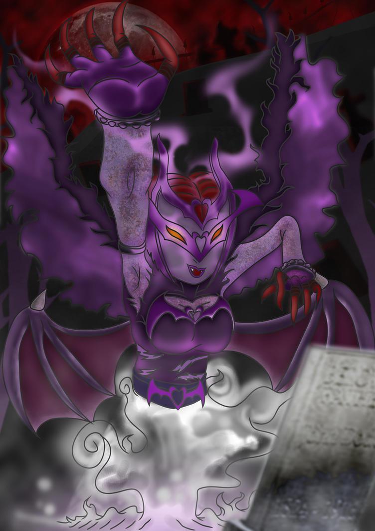 LadyVampmon, my fan Digimon by JDMiles