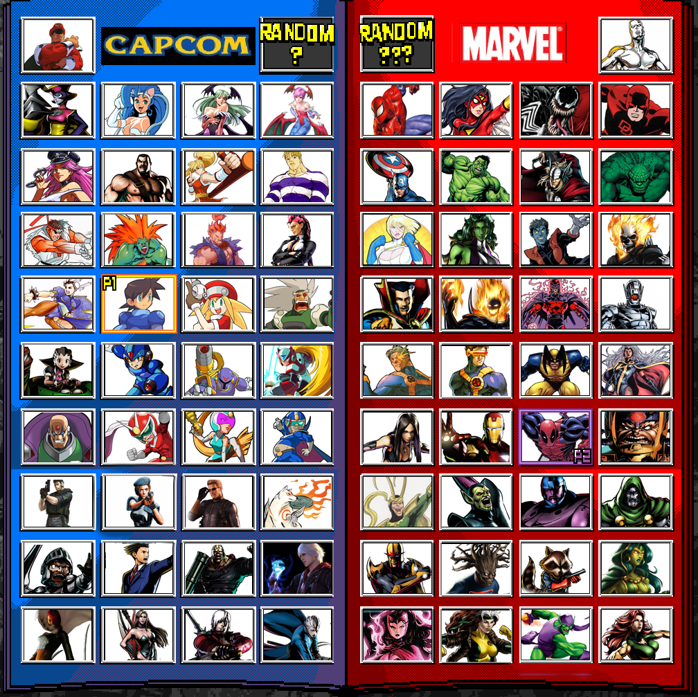 My Marvel vs Capcom 4 Wishlist - 977.6KB