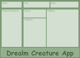 Drealm Creature App by CatGirl1324