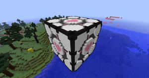 Minecraft Companion Cube