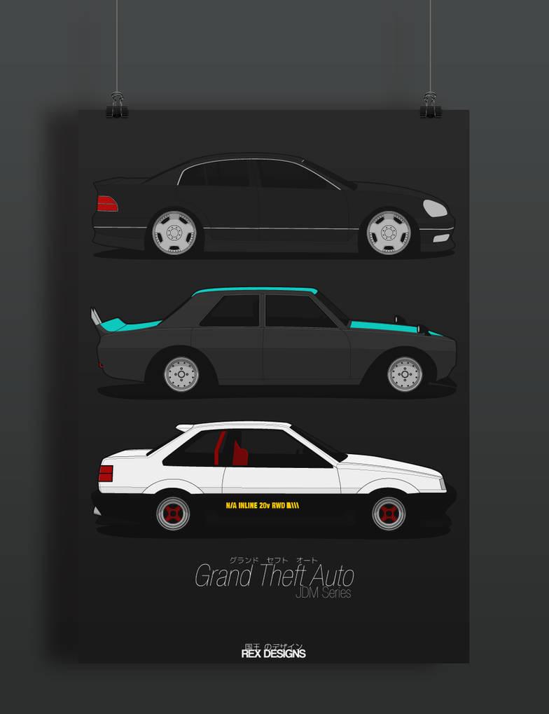 Grand Theft Auto JDM Series