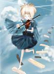Melody of the Sky by Lightningbutterflies