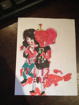 Marcy and Peebles Zombies