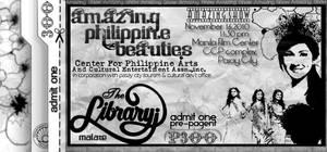 Amazing Show ticket 4 by Gabrielnazarene
