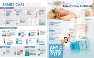 Spread for February Brochure Family Care by Gabrielnazarene
