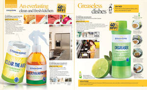 Spread for January Brochure 2013 Home Care 3 by Gabrielnazarene