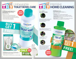 Spread for June Brochure 2013 Home Care 2 by Gabrielnazarene