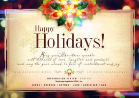 HAPPY HOLIDAYS! by Gabrielnazarene