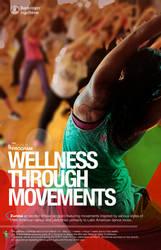 Wellness Program Poster for Zumba