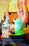 Wellness Program Poster for Pilates by Gabrielnazarene