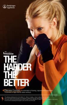 Wellness Program Poster for Boxing