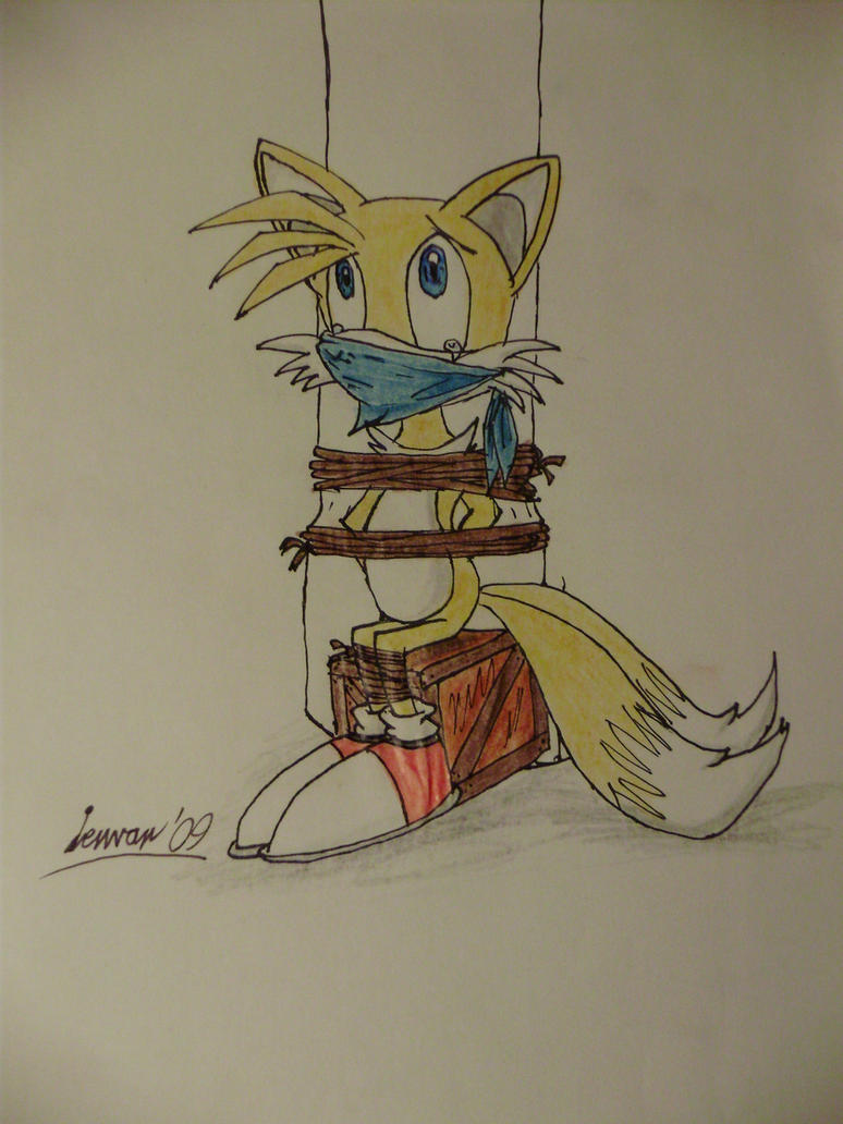 Tails pole tied by Levvvar