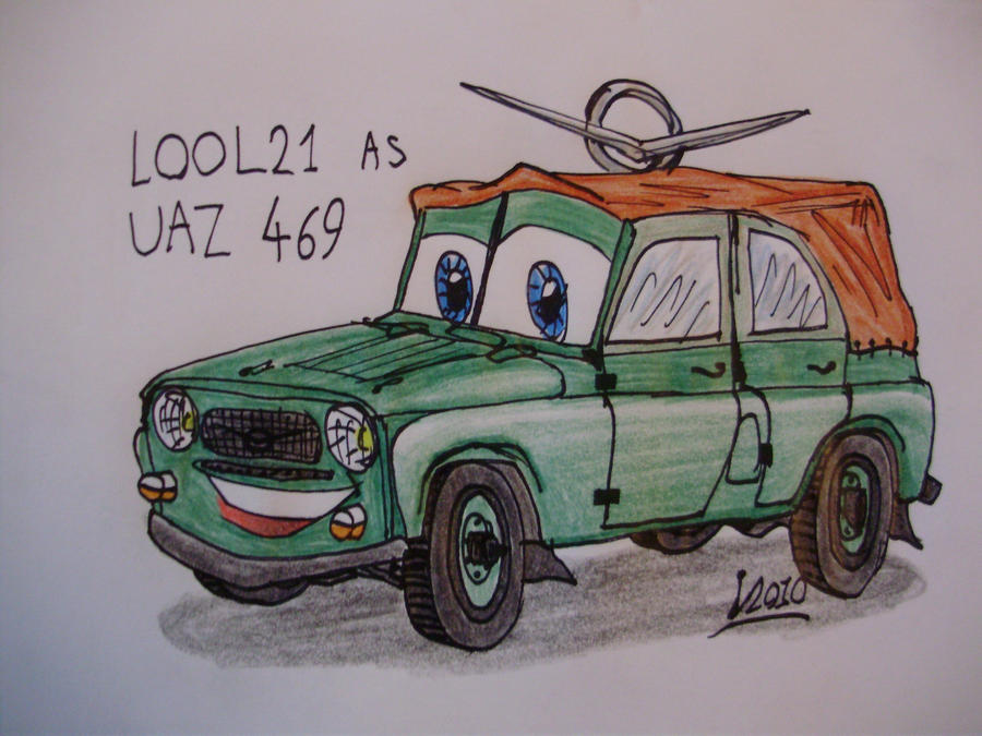 LOOL21 in Cars style by Levvvar