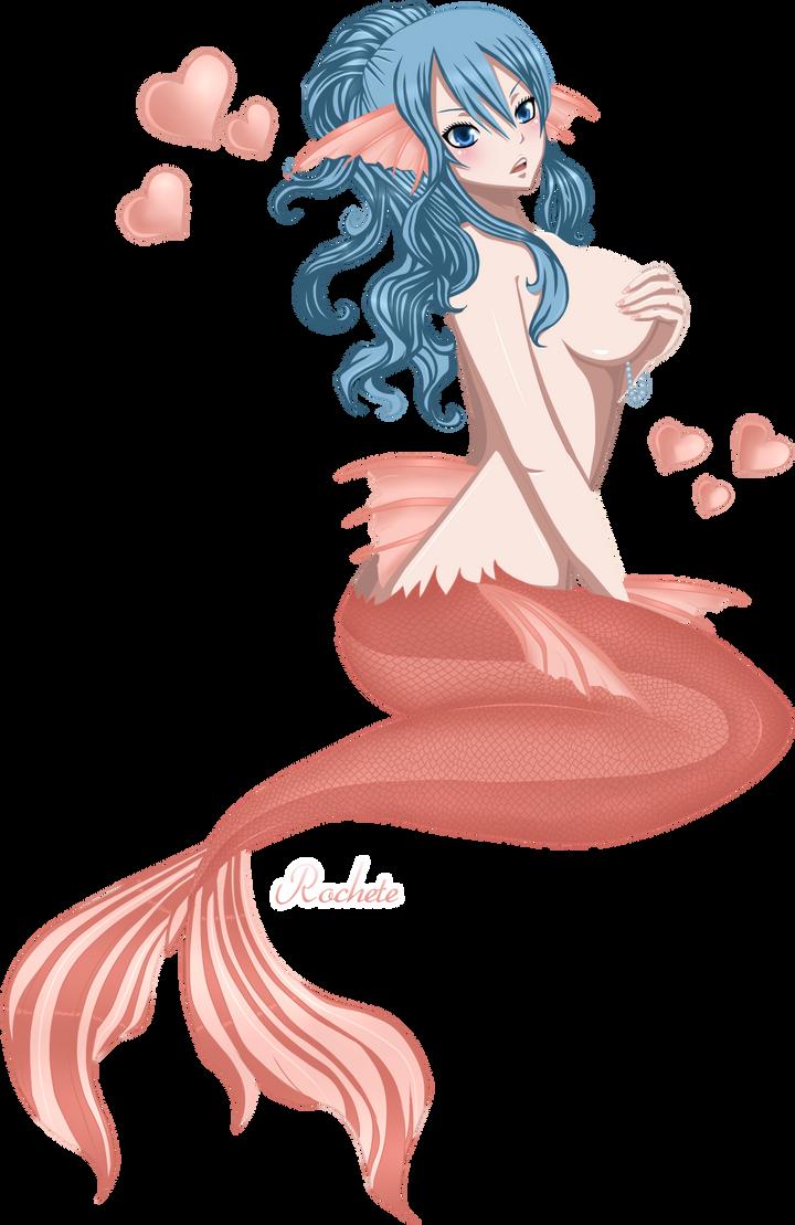 sexy anime mermaid