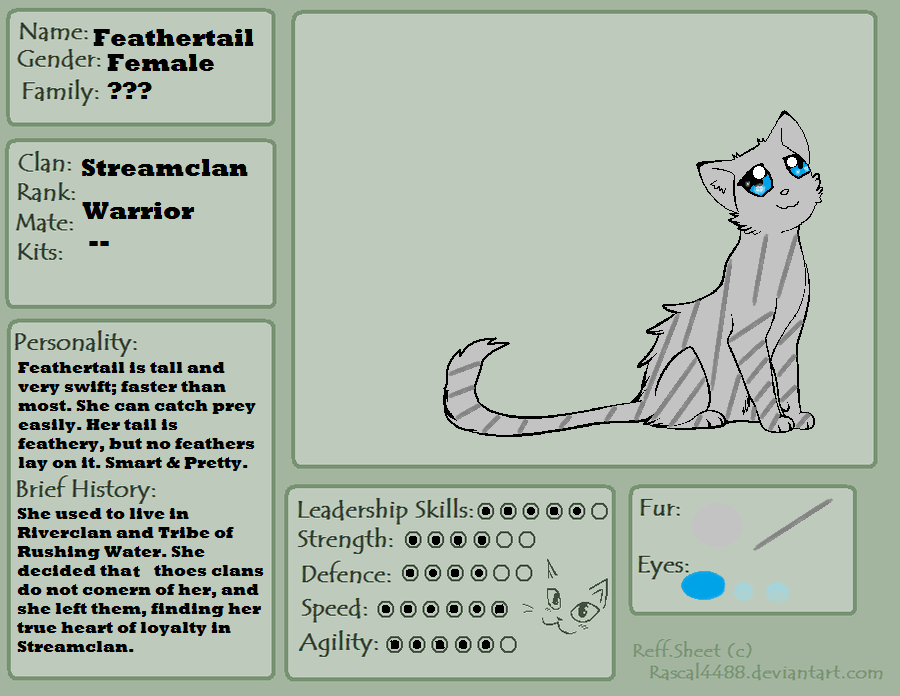 Feathertail Reff Sheet by Ask--Feathertail