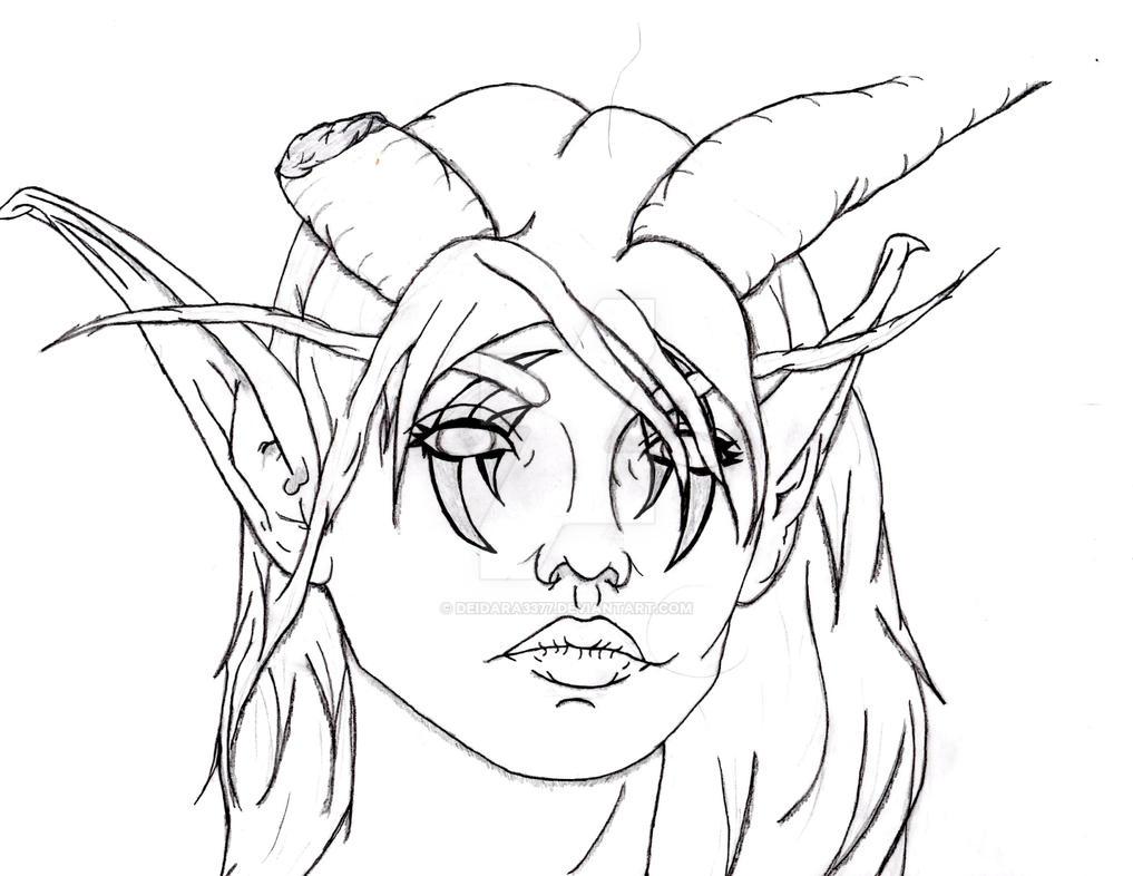 Addylyn (Adzaira) Warcraft OC by Deidara3377