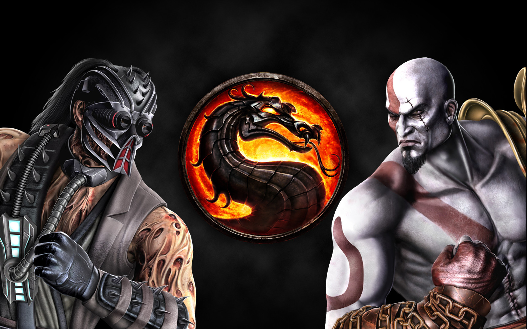 Mortal Kombat 9 Kabal vs Kratos by Nicolae1013 on DeviantArt