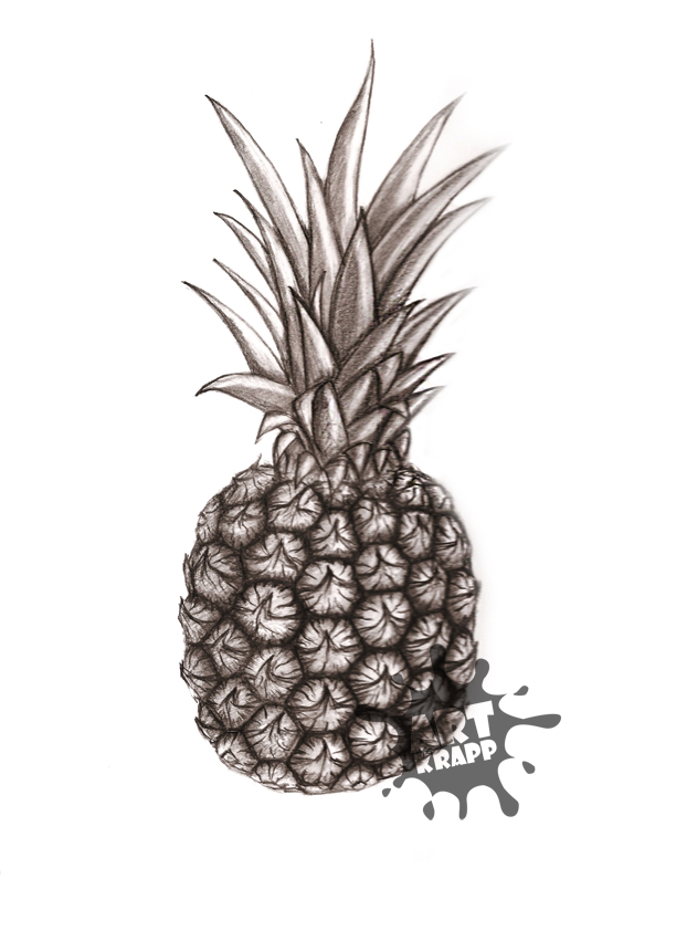 How To Draw Drawing Pineapple