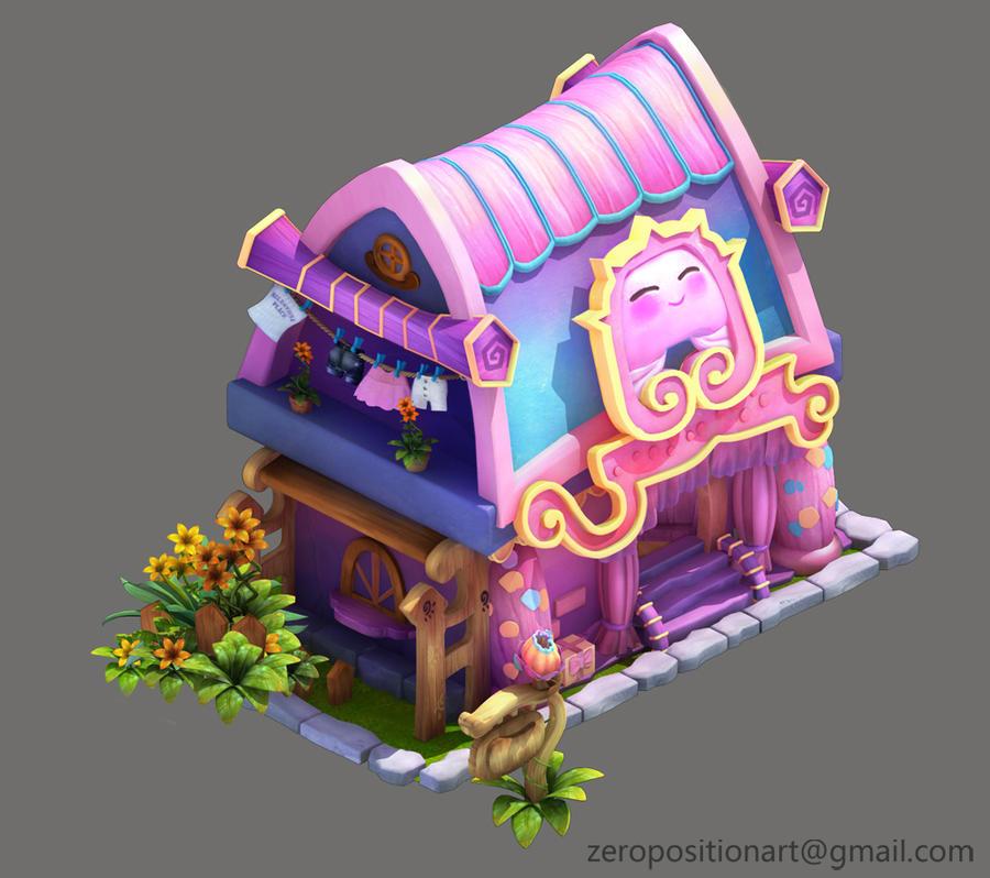 Lovely hut by Zero-Position-Art