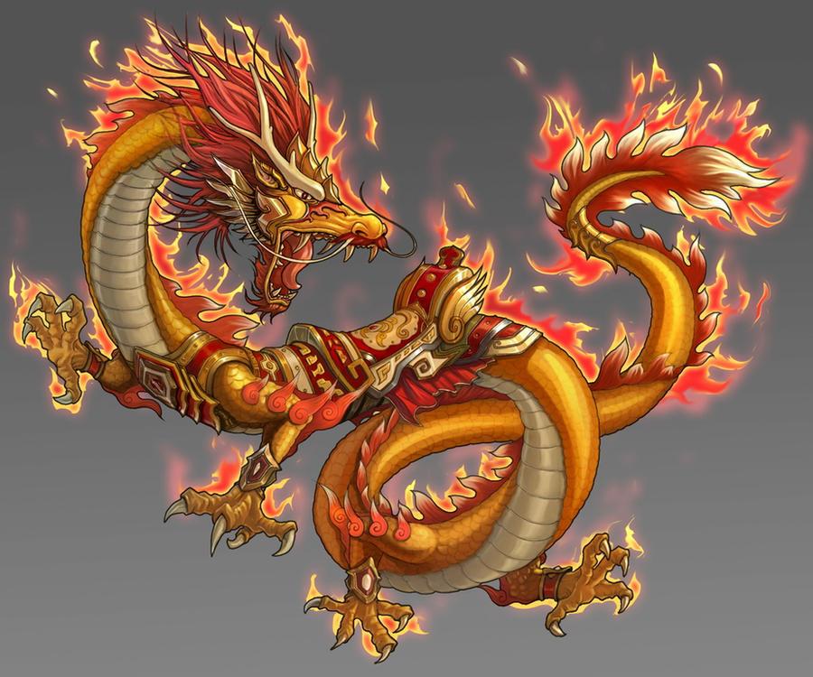 chinese dragon by zero position art on deviantart