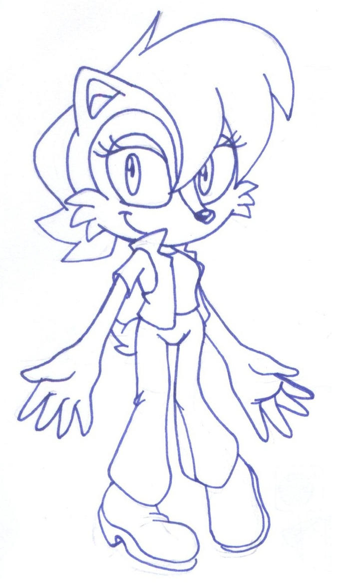 sonic satam coloring pages - photo#9