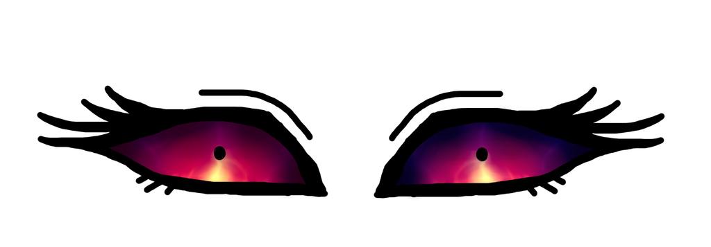 Powerful Eyes by Emiko-Hanna
