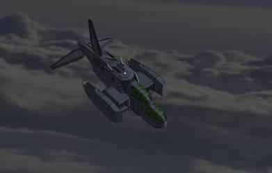 M-Tec Te iden Vector Thrust  Vehicle by NikitaTarsov