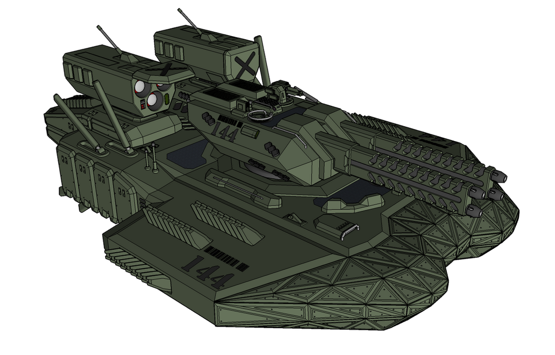 M-Tec Sybaltin Nachtmahr VT-Tank `Firestorm` by NikitaTarsov
