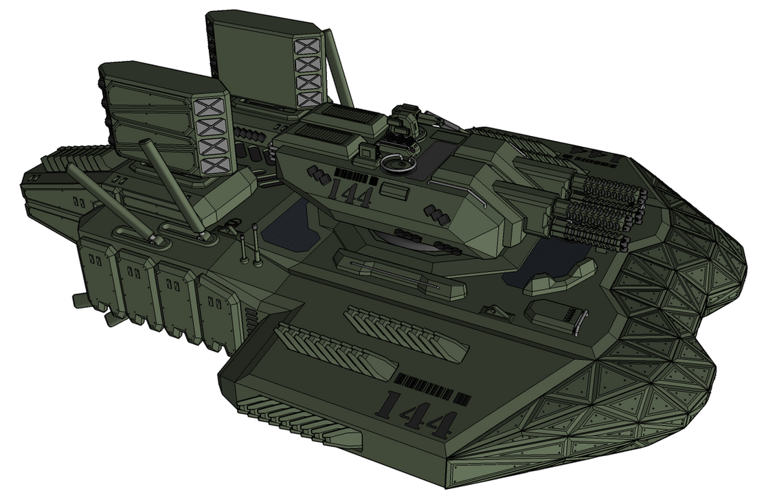 M-Tec Nachtmahr Vektorthrust Tank A2`Aircombat` by NikitaTarsov