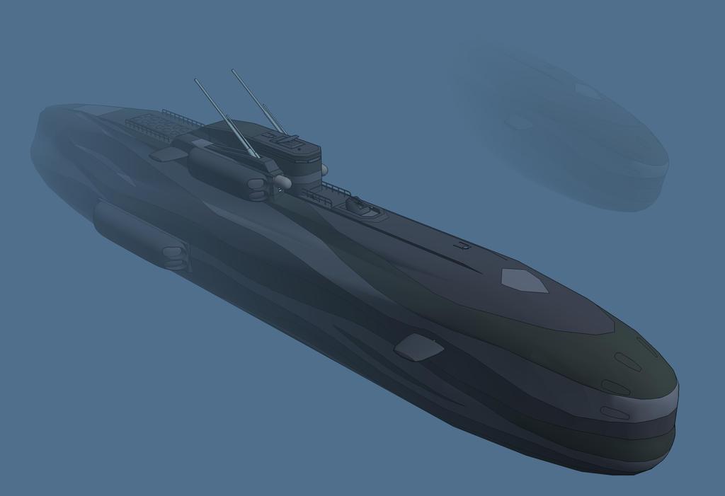 M-Tec Te iden KJ9 taktisches U-Boot