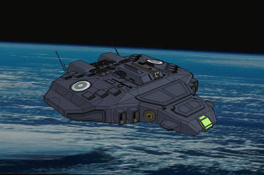 Neridian LHL977 Multipurpose Vessel - Gunship by NikitaTarsov