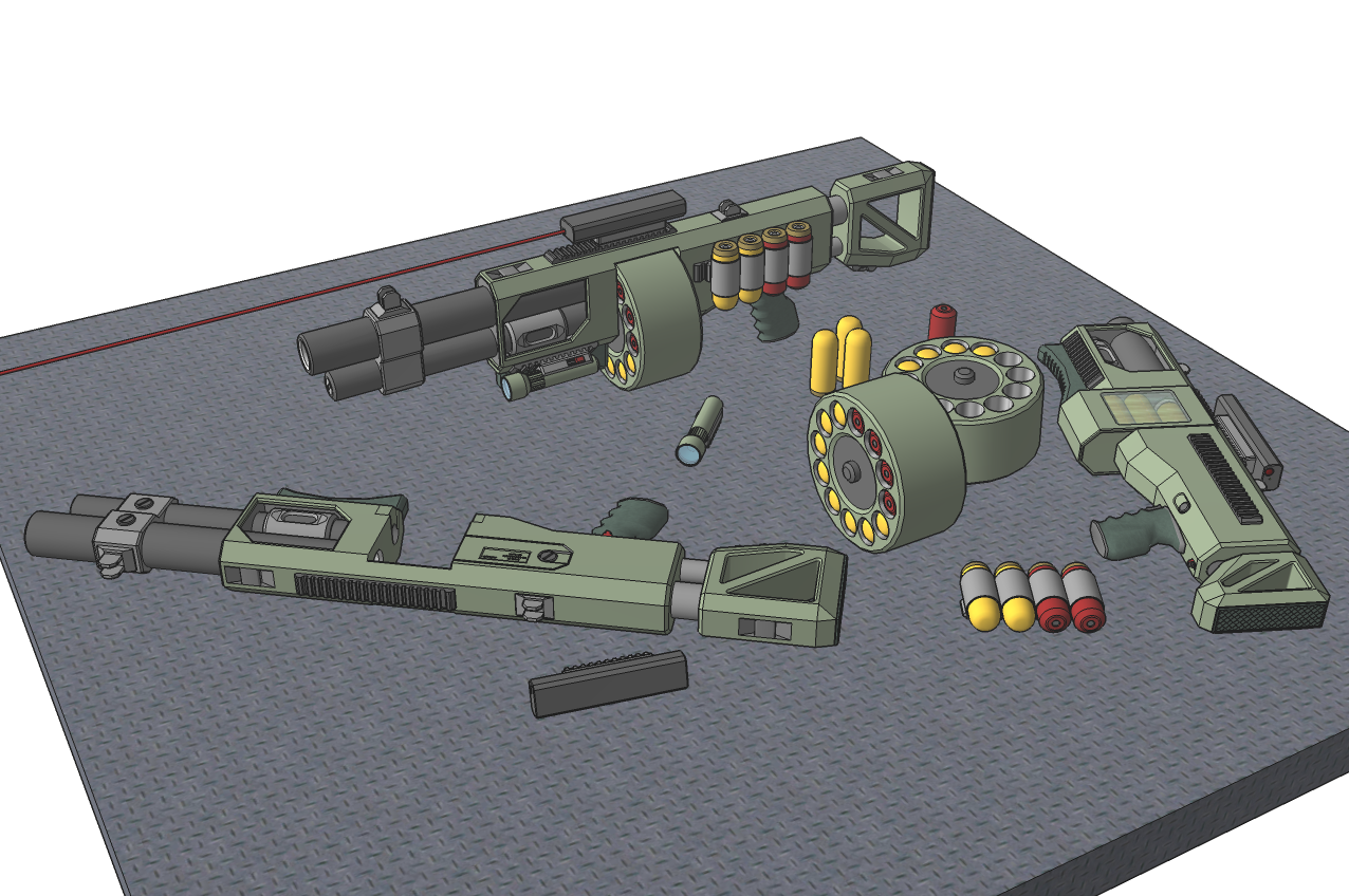 M-Tec Orcish Grenade Launcher by NikitaTarsov