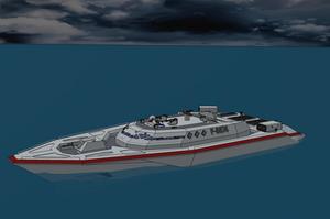 M-Tec Te iden Narda 80C Patrol Boat by NikitaTarsov